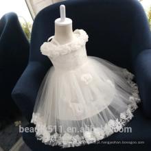 Vestido de noiva infantil exclusivo e respirável vestido de festa vestido de festa ED590