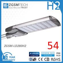 CONDUIT modulaire conçue 280W Shoebox LED pour éclairage de stationnement
