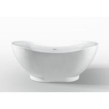 Baignoire en acrylique baignoire autonome