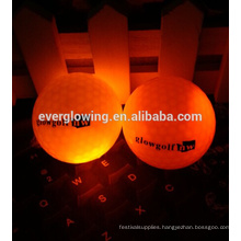 promotional LED night training golf ball HOT sell 2017