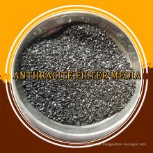 Tratamento de água Filtro de mídia 80% Carvão de carbono antracite para venda