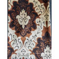 Tissu velours imprimé pour rideau