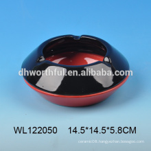 Fashionable ceramic ashtray in multi colors