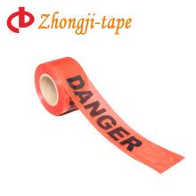 Номера 1000' клей красная опасность PE ленты