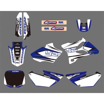 0025 nuevo estilo equipo gráficos y fondos Kits de pegatinas de calcomanías para YAMAHA Yz85 2002 2003 2004 2005 2006 2007 08 09 10 2011 2012 motos