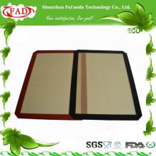 2014 FDA Горячий двухсторонний коврик для пиццы из силикона