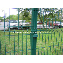 Ral 6005 Green Powder Coated Europe Style Fence Panel