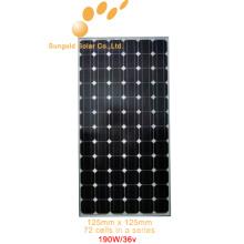 Моно панель солнечных батарей PV 190 Ватт