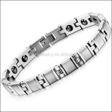 2015 new men Titanium Bracelet &Bangles, scalar energy bracelet ,bio magnetic bracelet GS8380