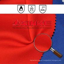 algodão / poliéster 60/40 tecido retardante de chamas