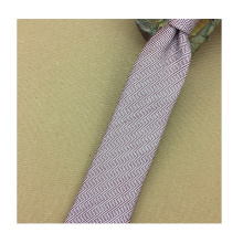 Tela tejida seda de la corbata
