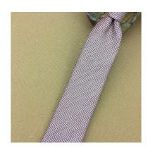 Tissu de cravate en soie tissée