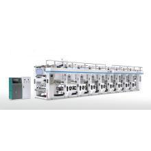 Computerized Plastic Film Register Rotogravure Printing Machine