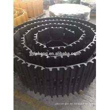 venta de piezas de la excavadora y de la rueda bulldozer de la fabricación de China