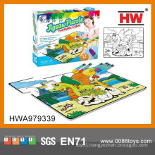 Interesting Puzzle Drawing Toy Kids Puzzle Stationery Set