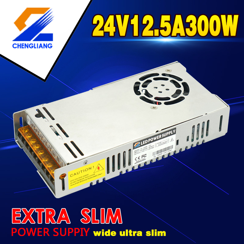 110V 220V AC ke DC 24V 300W Power Supply