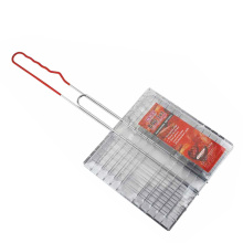 square wire mesh grill for outdoor barbecue party