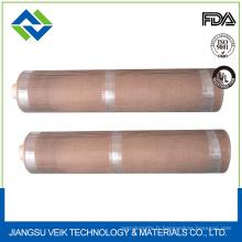 Tissu de fibre de verre enduit de téflon de Ptfe pour la cuisson industrielle