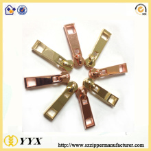 Zinc Alloy Zipper Sliders for Bag Accessories