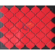 Glossy Red Shining Ceramic Mosaic (CST142)