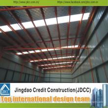 Hochwertige Stahlkonstruktion vorgefertigte Rahmenindustrie