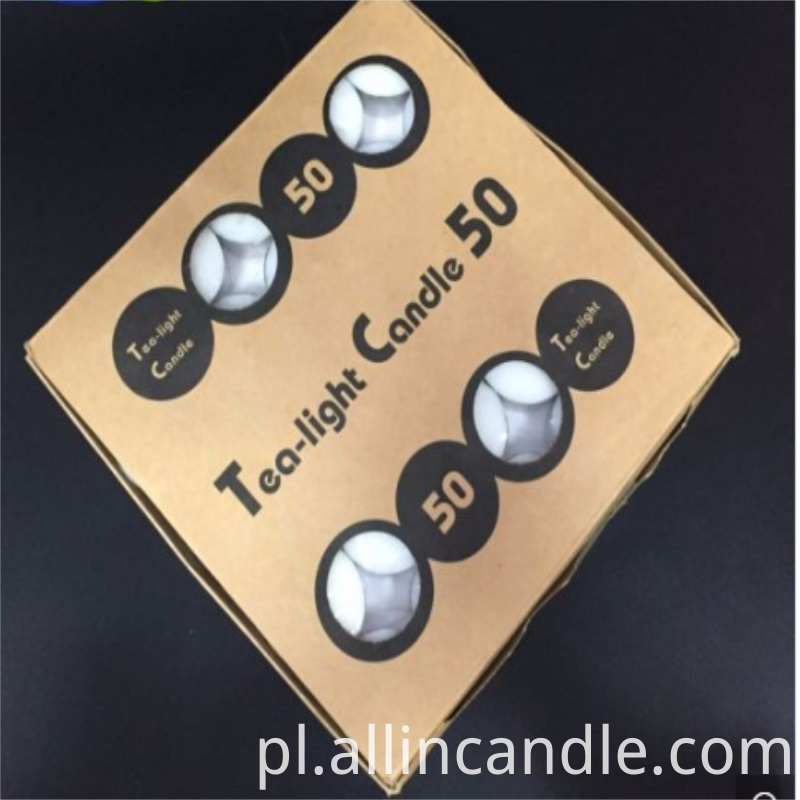 50pcs Box Tea Light Candle