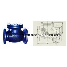Shipbuilding Cast Iron 5k Swing Check Valves