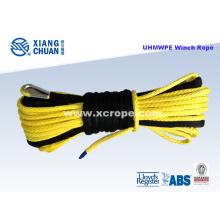 UHMWPE Yellow Winch Rope