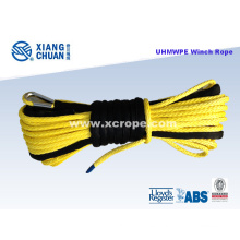 UHMWPE Yellow Winch Rope