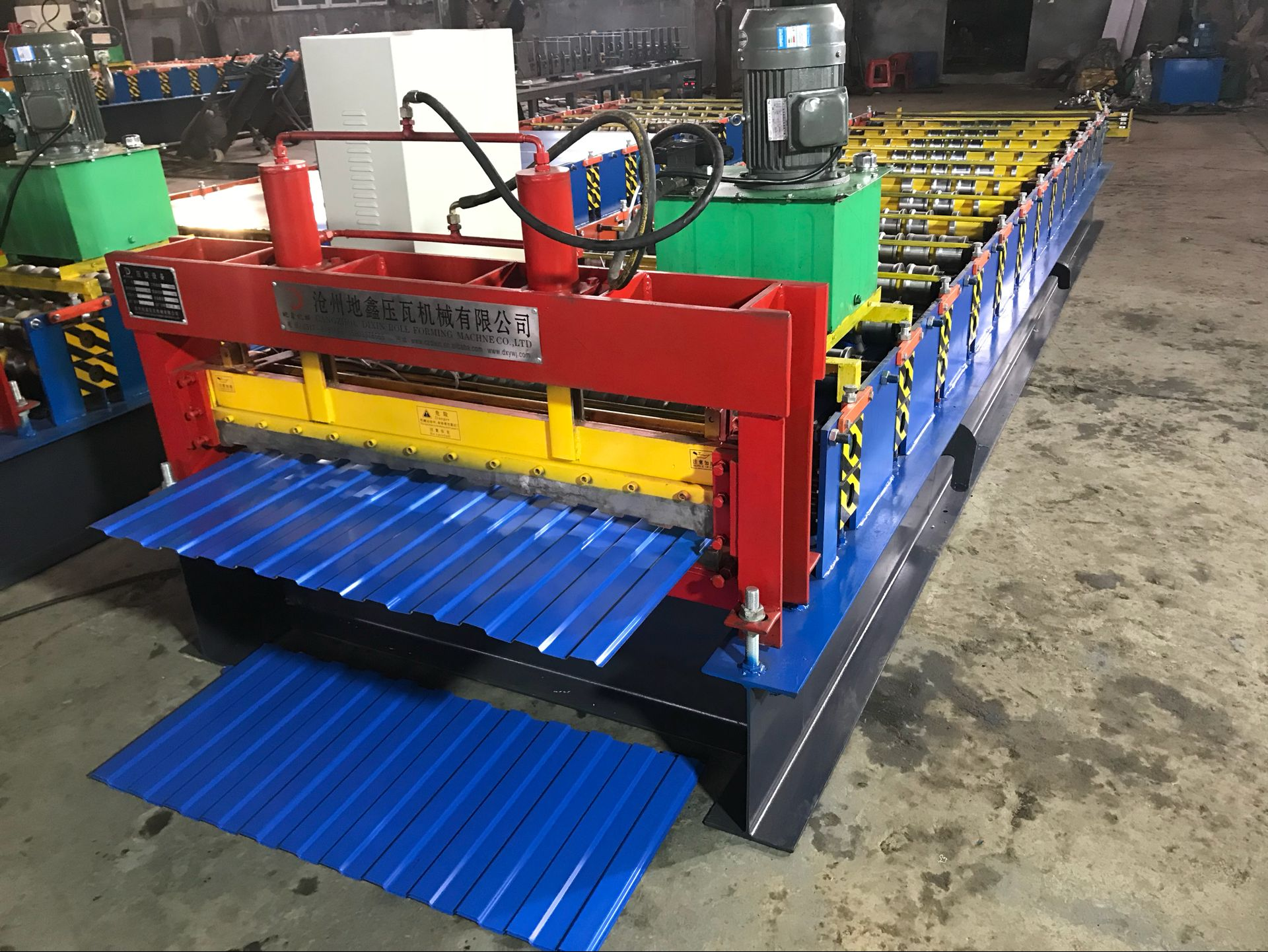 Single layer ibr automatic roll forming machine