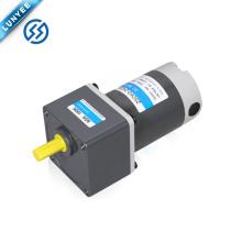Motor cepillado eléctrico del engranaje de la CC del alto esfuerzo de torsión de 90w 12v 24v 90v