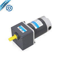 90w 12v 24v 90v high torque electric brushed dc gear motor