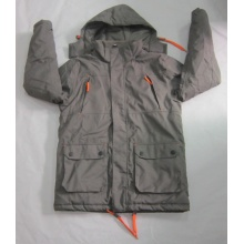 Yj-1075 Windbreaker Winter Waterproof Breathable Tactical Softshell Jacket Hoodie Mens