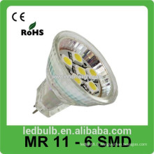 2015 nouveaux produits led spot light MR11 6SMD led lights