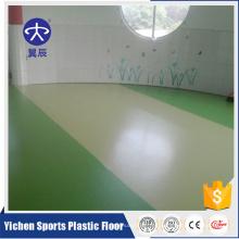 Certificado de BV Piso Comercial Yichen barato vinilo de PVC