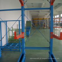 Rack de armazenamento / cantilever de armazenamento resistente ao ar livre econômica com rolha de extremidade de braço