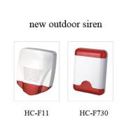 new outdoor siren with strobe
