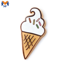 Metal Gold Customize Ice Cream Enamel Pin