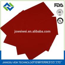 Tissu enduit de silicone Tissu de fibre de verre revêtu de caoutchouc de silicone Chine