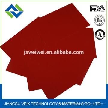 Покрынная силиконом ткань Силиконовой резины с покрытием стеклоткань ткани Китай