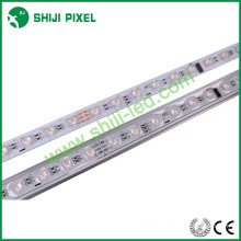 48LEDs/m aluminum housing led light bar 12v cheap rigid led light bar