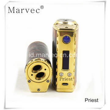 2017 Priest vape box mod kontrol tegangan ecigs