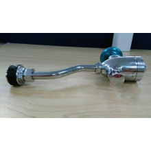 Válvula de descarga de vaso sanitário do sensor de urina e válvula de descarga de urina de latão