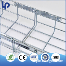 Stylish easy to assemble 50mm-1000mm galvanized cable basket production equipment