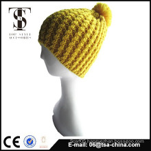 Best selling design 100% acrylic knitted hat cap