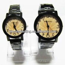 Relógio quente da liga da forma da venda, relógio do presente ajustou JW-37