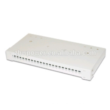 19 inch rack mounted 1/2/3/4/5/6/7U 24core Fiber optic Distribution box,fiber optical distribution frame