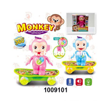 B/O Universal Skateboard Monkey with Light&Music (1009101)