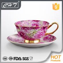 Buena calidad hotel fino hueso China nueva taza de té y café