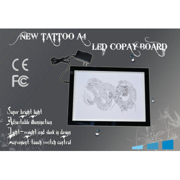 Adjustable LED Touch Screen A4 Size Double Light Tattoo Copy Board